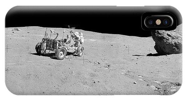 1972 iPhone Case - Apollo 16 Lunar Rover by Nasa/detlev Van Ravenswaay