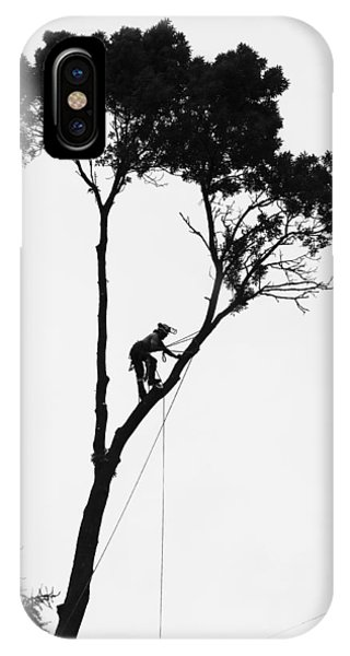 Arborist At Work IPhone Case