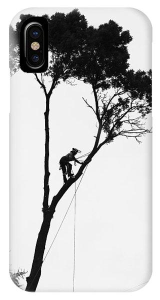 Arborist At Work IPhone Case