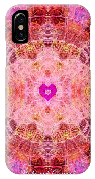 Archangel Chamuel IPhone Case