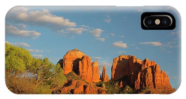 Arizona, Sedona, Crescent Moon IPhone Case