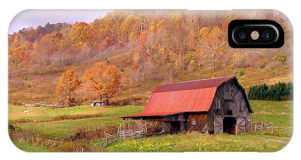 Ashe County Barn IPhone Case