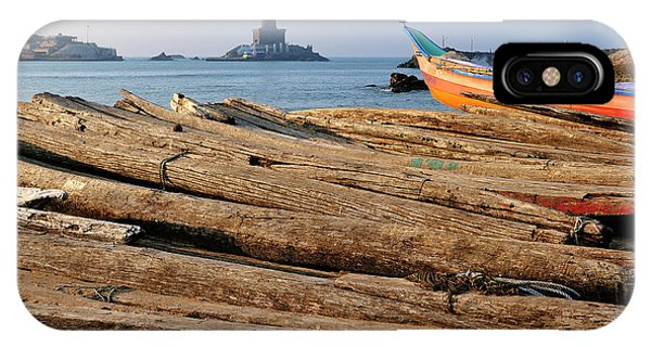 Roxbury iPhone Case - Asia, India, Tamil Nadu, Kanniyakumari by Steve Roxbury