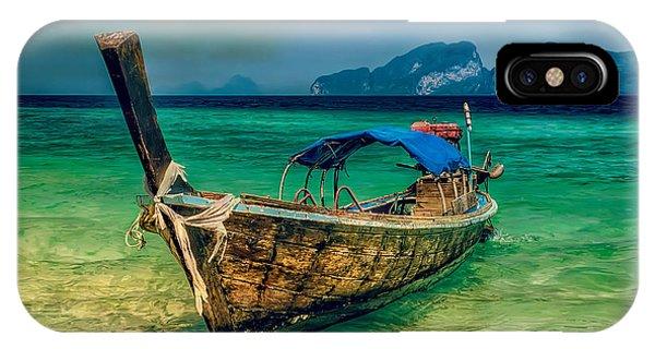 Asian Longboat IPhone Case