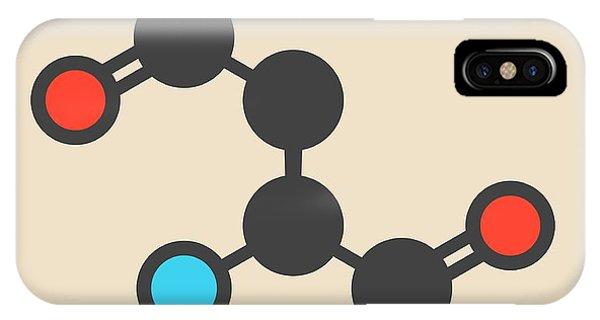 Asparagine Amino Acid Molecule Phone Case by Molekuul