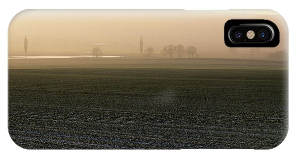 Asse iPhone Case - Asse Range Near Wolfenbuettel, Germany by Marc Steinmetz