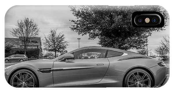 Aston Martin Vanquish V12 Coupe IPhone Case