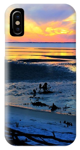 At A Days End IPhone Case