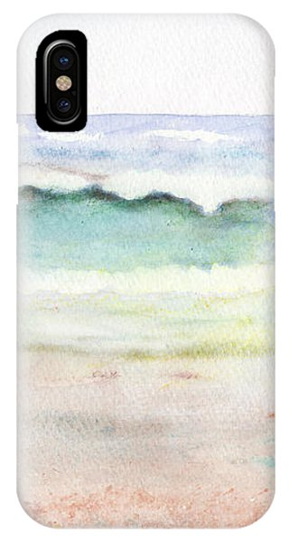At The Beach IPhone Case