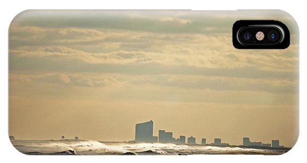 Atlantic City Skyline IPhone Case
