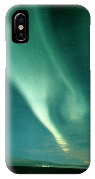 Aurora Borealis Display Seen From Northern Norway Phone Case by Pekka Parviainen/science Photo Library