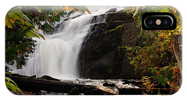 Autumn At Cattyman Falls IPhone Case