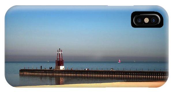 Autumn At The Beach IPhone Case