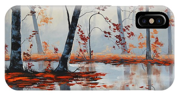 Amber iPhone Case - Autumn Blaze by Graham Gercken