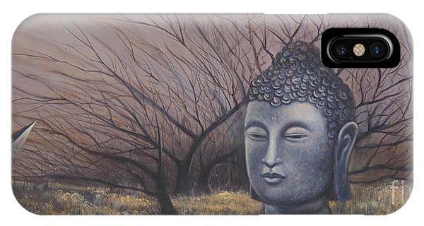 Autumn Buddha IPhone Case