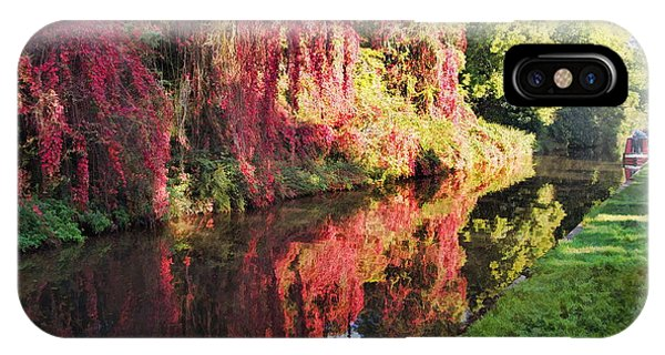 IPhone Case featuring the digital art Autumn Colours by Paul Gulliver