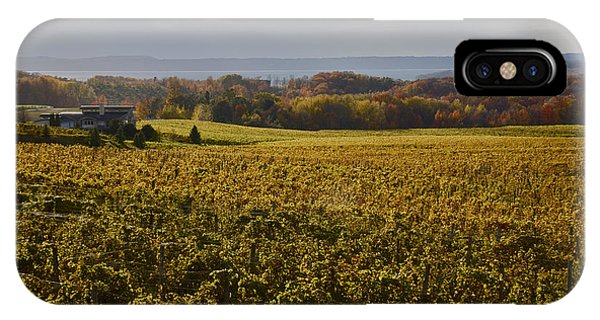 Autumn On Old Mission Peninsula  IPhone Case