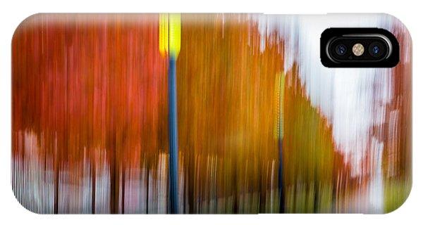 Autumn Park 1 IPhone Case
