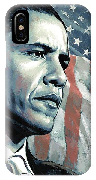 Barack Obama Artwork 2 IPhone Case