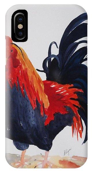 Barnyard iPhone Case - Barnyard Boss II by Ellen Levinson