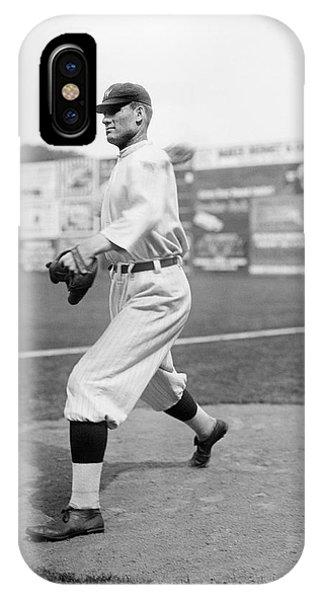 Baseball Star Walter Johnson IPhone Case