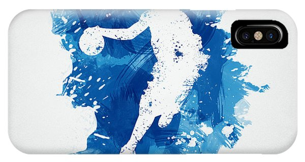 Basketball iPhone Case - Basketball Player by Aged Pixel