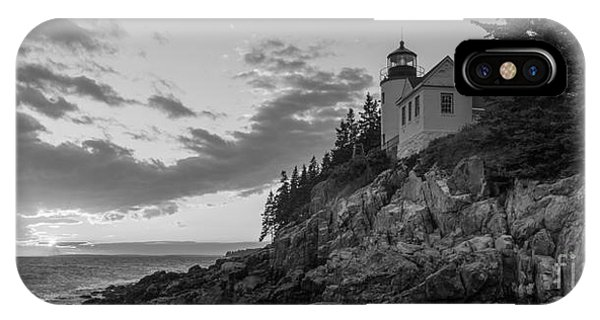 Bass Harbor Head Light Sunset  IPhone Case