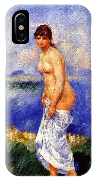 French Painter iPhone Case - Bather by Pierre-Auguste Renoir