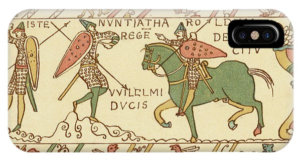 Battle Of Hastings A Sentinel Tells Phone Case by Mary Evans Picture Library