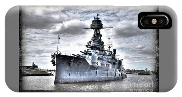 Battleship Texas IPhone Case
