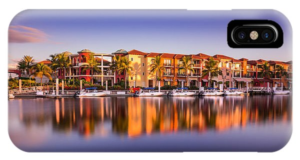 Bay Resort Naples Florida IPhone Case