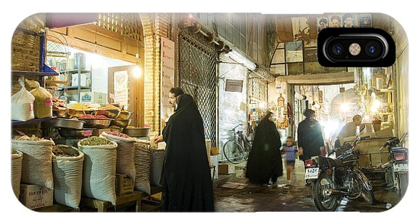 Bazaar Market In Isfahan Iran IPhone Case
