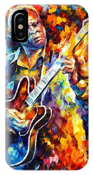 Bb King  Long Nights IPhone Case
