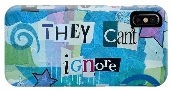 Be So Good They Can't Ignore You IPhone Case