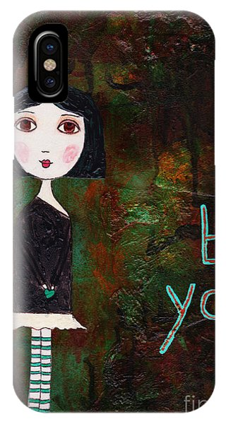 She iPhone Case - Be You by Beth Morey