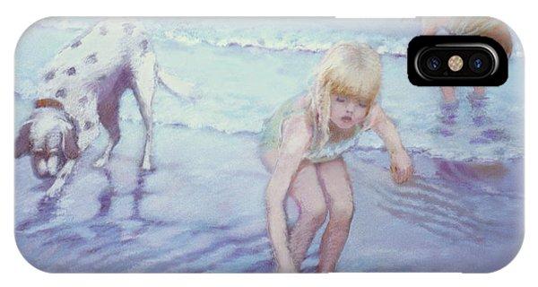 Beach Threesome IPhone Case