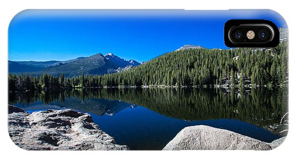 Bear Lake Morning IPhone Case