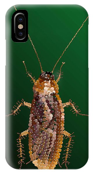 Bedazzled Roach IPhone Case