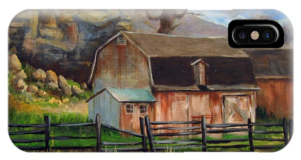 Bellvue Barn IPhone Case
