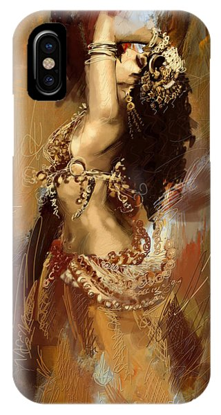 Abstract Belly Dancer 17 IPhone Case