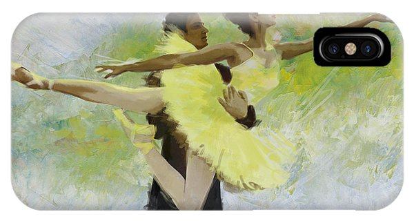 Ballerina iPhone Case - Belly Dancers by Corporate Art Task Force