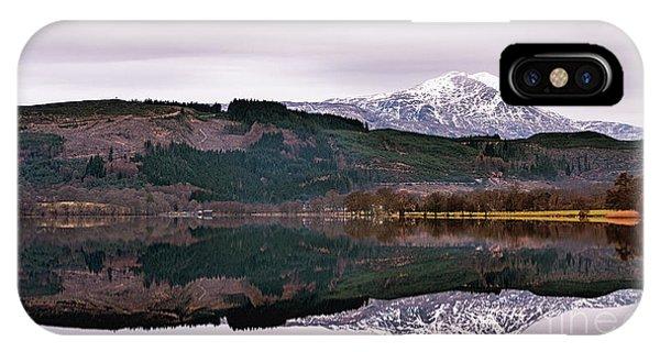 Loch Ard iPhone Case - Ben Lomond by John Farnan