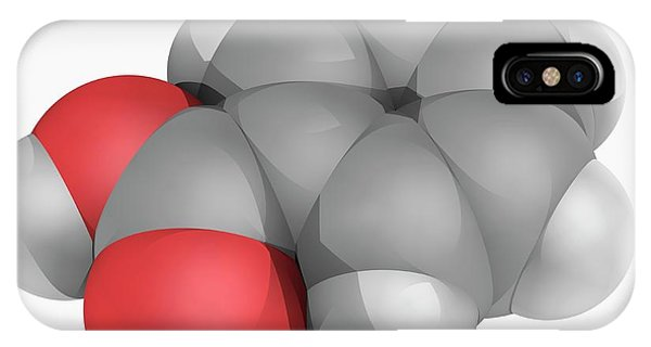 Benzoic Acid Molecule Phone Case by Laguna Design/science Photo Library