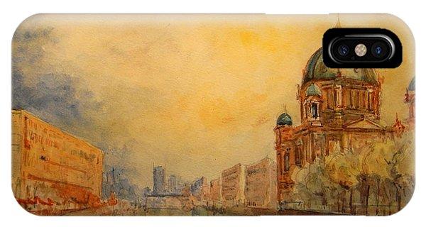 Berlin iPhone Case - Berlin by Juan  Bosco