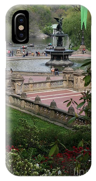 Bethesda Fountain - Central Park Nyc IPhone Case