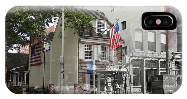 Betsy Ross House IPhone Case