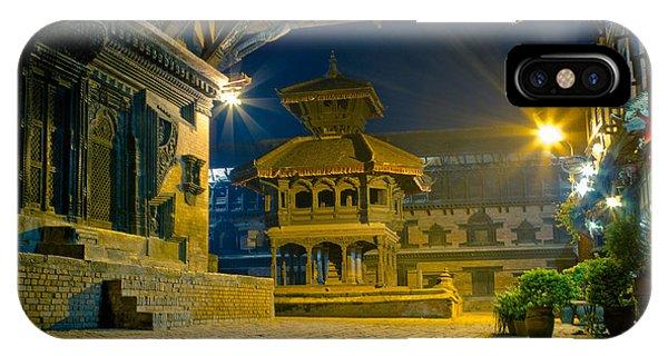 Bhaktapur City Of Devotees Artmif.lv IPhone Case