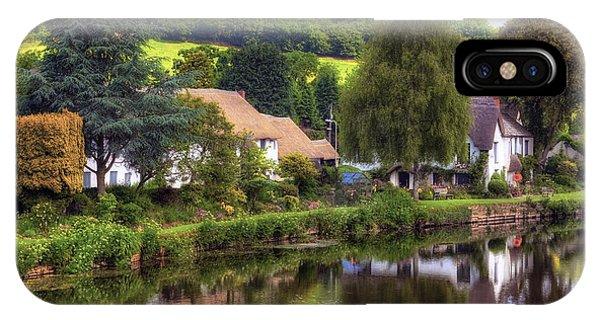 English Village iPhone Case - Bickleigh - Devon by Joana Kruse
