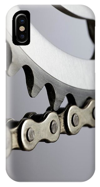 Bicycle Chain And Crank IPhone Case