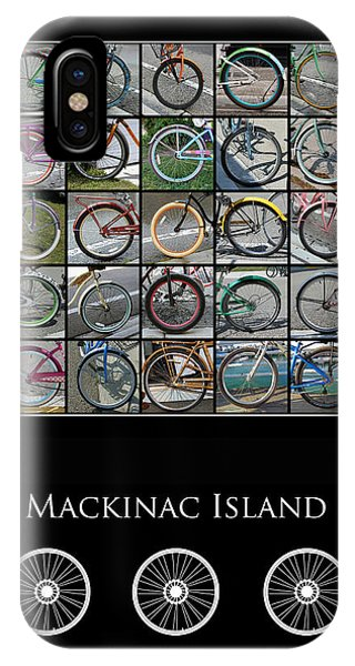 IPhone Case featuring the photograph Bicycles Of Mackinac Island by Jackson Pearson